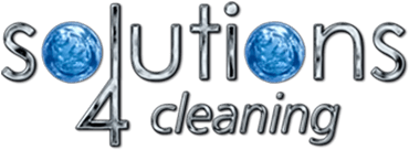 Commercial Cleaning - Solutions 4 Cleaning Logo.