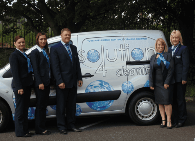 Solutions 4 Cleaning: Meet the team