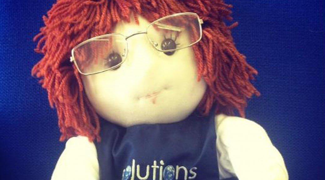 Dee Tergent puppet