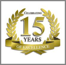 15 years celebration
