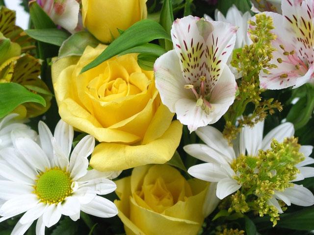 John Lewis flower bouquet
