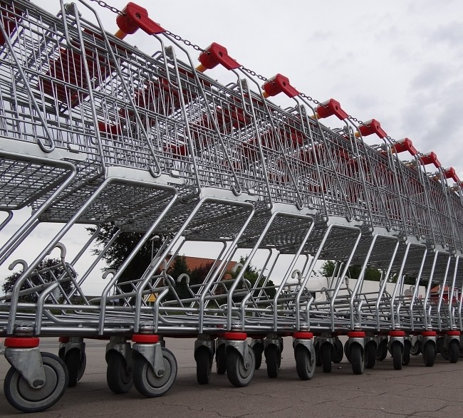 Sainsbury's shopping carts