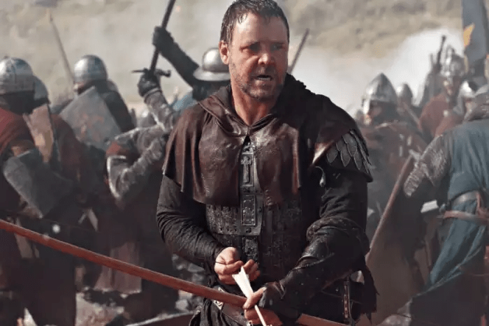 Robin Hood  as played by Russell Crowe