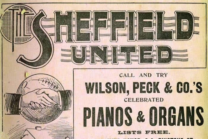 An old Sheffield United Programme